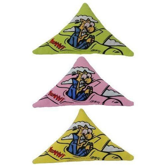 Picture of Yeowww! Purrr!-Muda Triangle 3 Pack