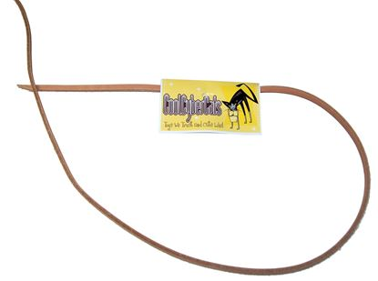 Picture of Kitty COW Leather Fling String